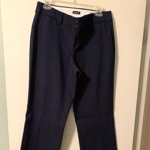 Navy Blue Loft Dress Pants